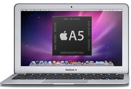 На тестировании замечен MacBook Air на базе процессора Apple A5