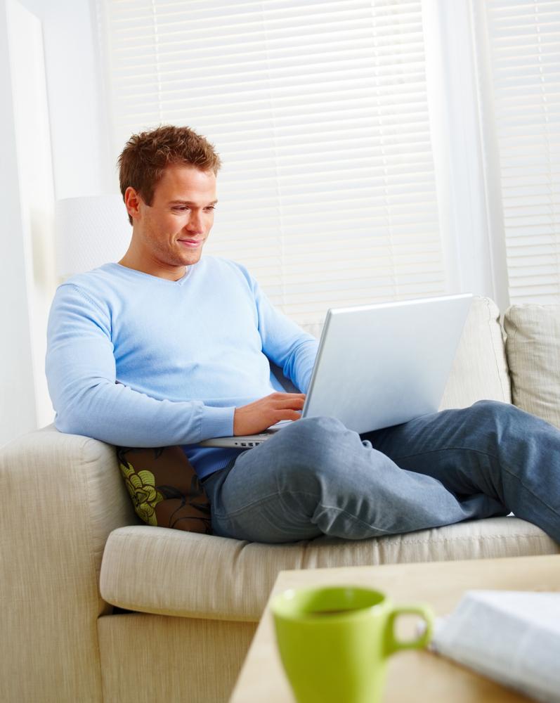 Фото мужчины дома