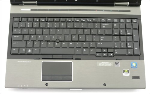 Обзор HP EliteBook 8540w