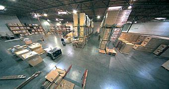 видеонаблюдение для склада строительных материалов