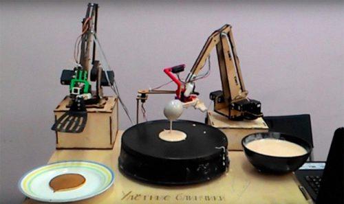 робот для блинов