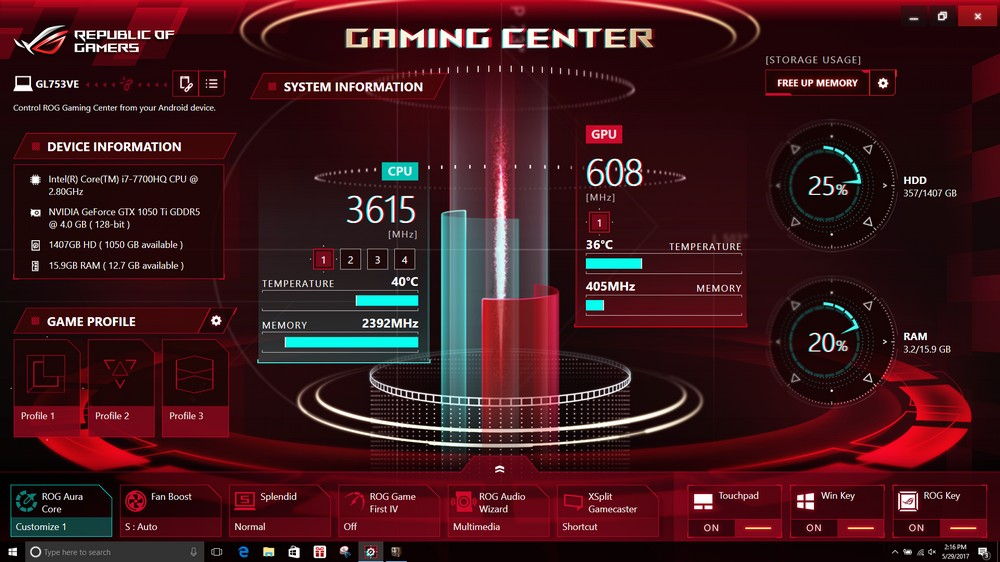Asus Rog Overclocking Program