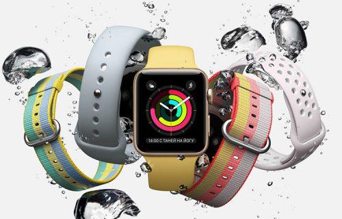 Немного слухов об умных часах Apple Watch 3