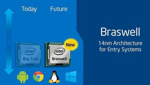 Архитектура Intel Braswell: список мобильных процессоров, характеристики