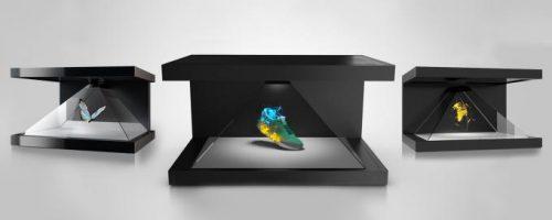 Голографическая 3D-пирамида