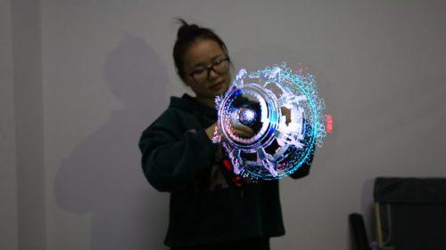 Голографический вентилятор - новый прибор для создания 3D-картинок