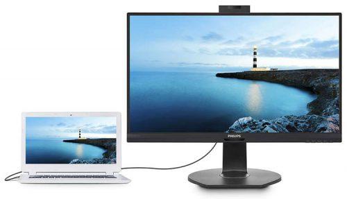 У Philips появились мониторы с выдвигающейся веб-камерой
