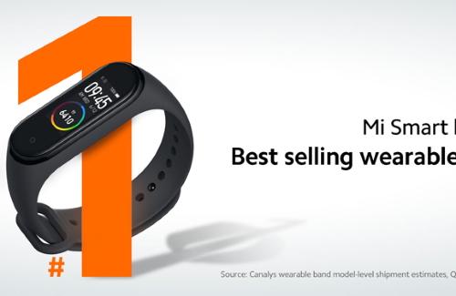 Xiaomi Mi Band 4 стал лучшим фитнес-браслетом в мире