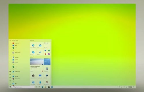Microsoft готовит обновление интерфейса Windows 10